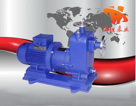 ZCQ型自吸式磁力泵结构图