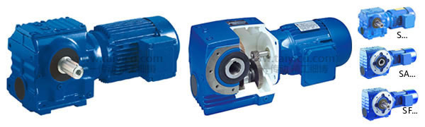SA77-YVF2EJ斜齿轮蜗杆减速机 专用电机