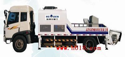 新型车载式混凝土泵