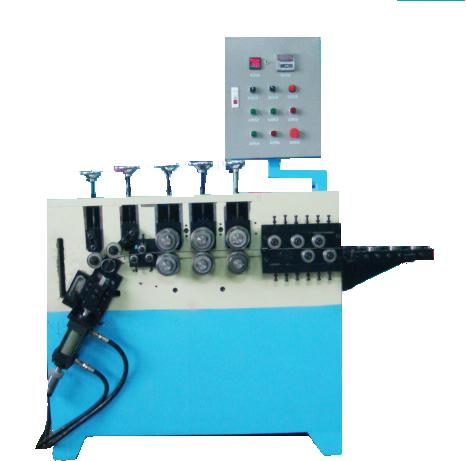 三排辘头液压圈仔机、风扇网罩成型机、高精度打圈机、灯饰圈加工设备