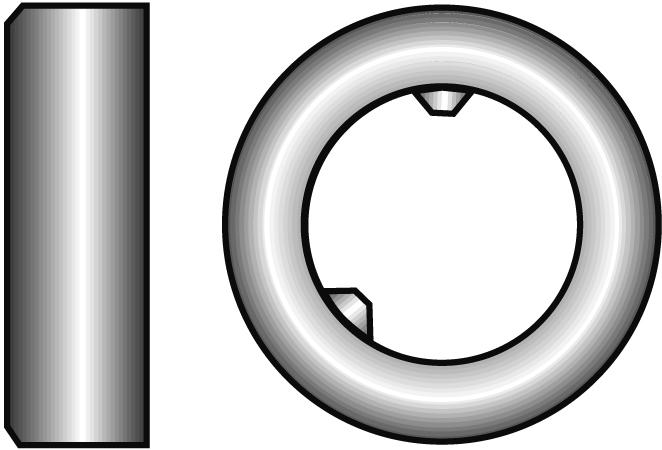 不锈钢调整环DIN705