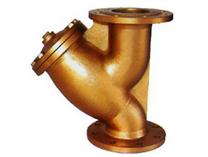 进口过滤器-黄铜法兰过滤器GL41H-16T