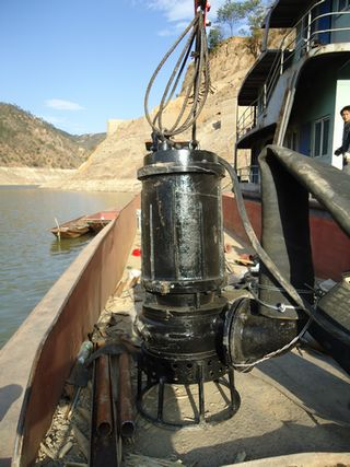 潜水抽沙泵、河道吸沙泵、耐磨泥沙泵