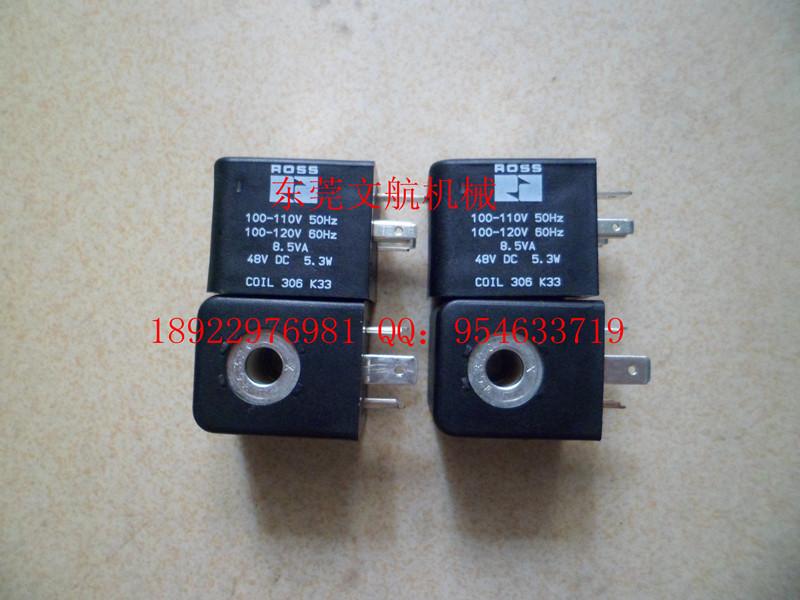 【代理销售】ross电磁阀线圈306k33(110v 220v)图片