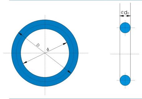 大尺寸硅胶O型圈,大规格硅胶O型圈
