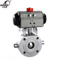 Q672气动薄型保温球阀