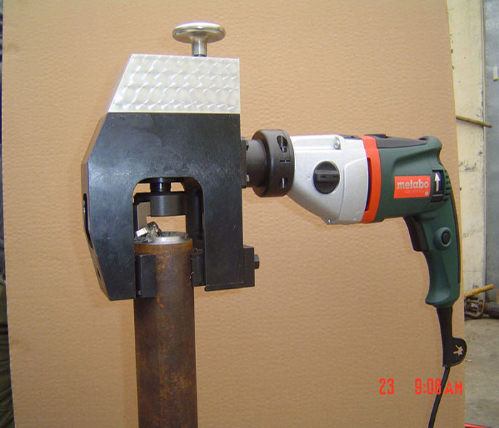 PKZ-76型便携式电动坡口机(自动进刀型)