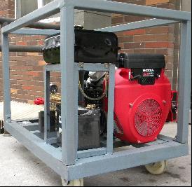 YE21C350高压水汽油机除漆除锈设备