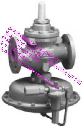 费希尔FISHER1098调压器1098-EGR DN80调压阀