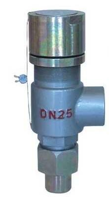 A21F、A21H-C型弹簧微启式外螺纹安全阀 科谋安全阀图片