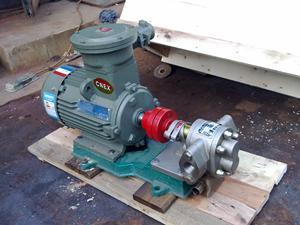 KCB系列保温不锈钢齿轮泵