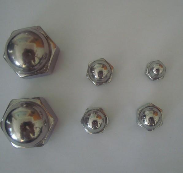 不锈钢盖型螺母球头螺母六角闷盖螺帽批发
