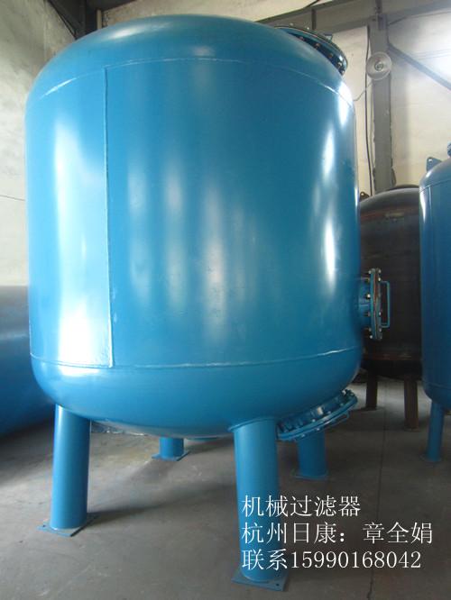 【碳钢Q235B】40T/H环氧树脂石英砂过滤器