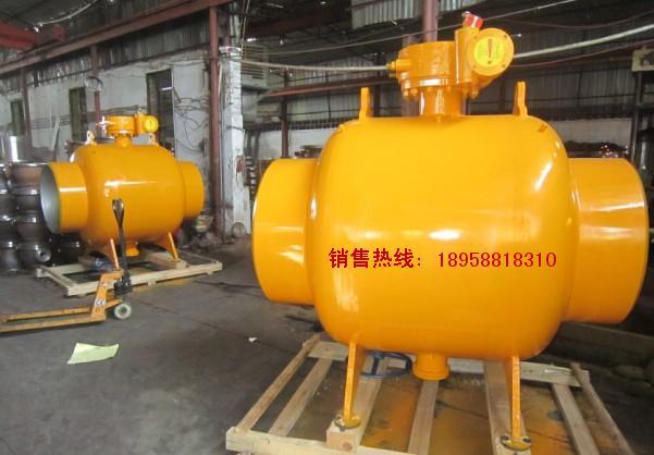 【 供应】 q367f固定蜗轮全焊接球阀 埋地式加长杆焊接球阀图片