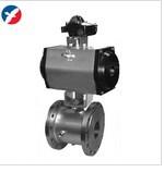 精卫泵阀-不锈钢气动保温球阀BQ641F-16P DN100