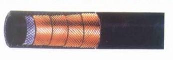 四层钢丝缠绕高压液压胶管