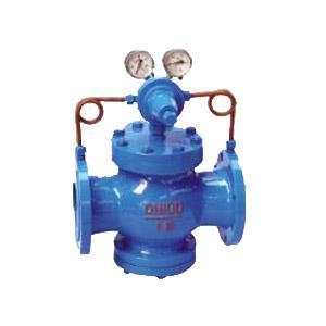 YK43X型先导活塞式气体减压阀,氮气减压阀液化气减压阀