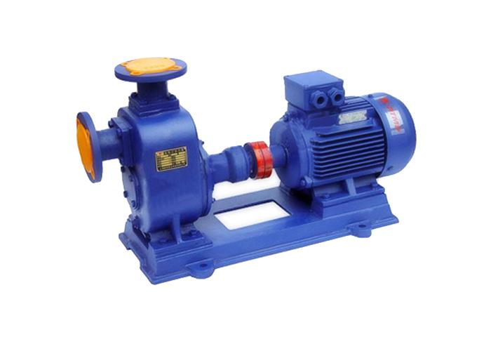 上海祈能泵业供应ZW型自吸式无堵塞排污泵