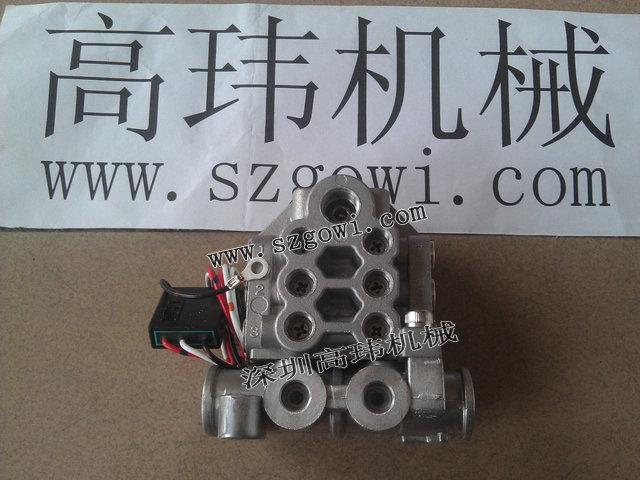 日本IHI电动黄油泵黄油分配阀,油路分配器MU-12MU-12-10M