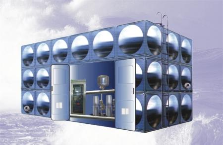 HLXB型智■能化箱式泵站 箱泵一体化设备