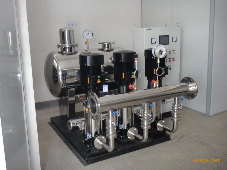 XMW型罐式无负压供水设备