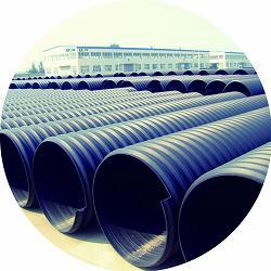 供应河北颐通pe钢带管 dn500-2200mm