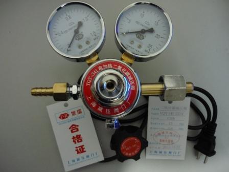 减压阀    上海减压阀门厂专业的电加热二氧化碳减压阀图片