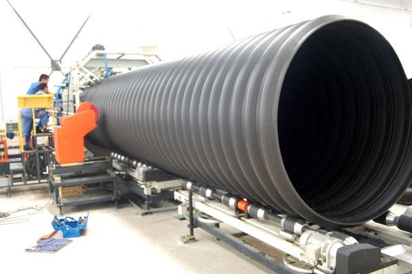 河北颐通管业pe钢带增强螺旋波纹管 dn500-2200mm招商