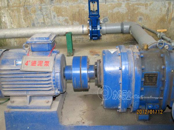 自吸无堵塞排污泵-力华灰浆泵 粘稠污泥泵