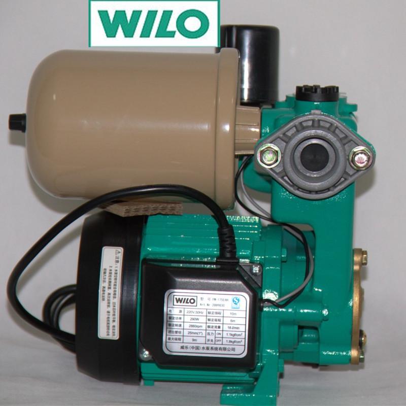 德国威乐水泵自动增压泵pw-175eah自吸泵特价