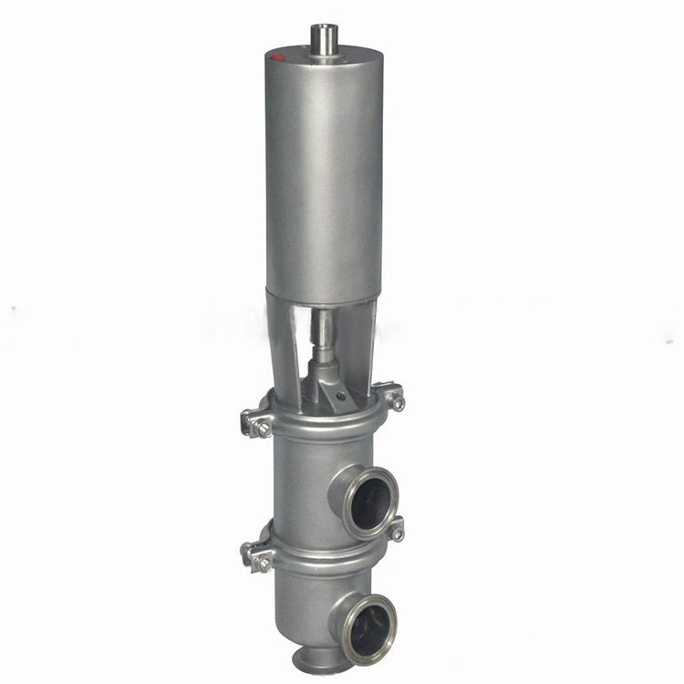卫生级气动两位三通换向阀(LL/LT型)