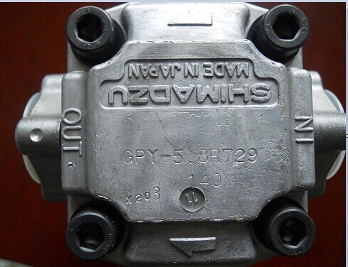 SHIMADZU齿轮泵GPY-3LSHIMADZU柱塞泵