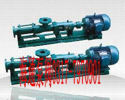 G型单螺杆泵,不锈钢食品螺杆泵