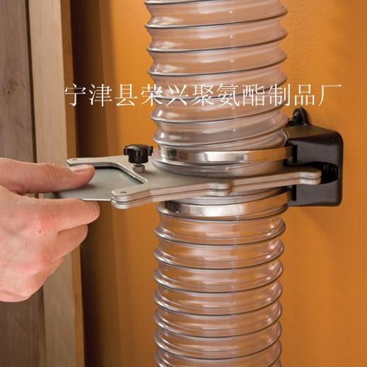PU钢丝透明吸尘耐磨风管