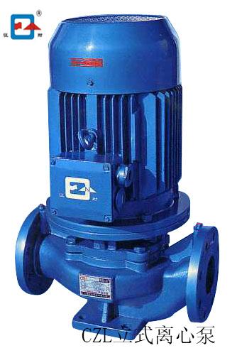 上海征耐牌CZL立式管道离心泵 厂家供应