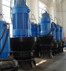南京蓝深泵业350ZQB-70D潜水轴流泵(雨水泵站)