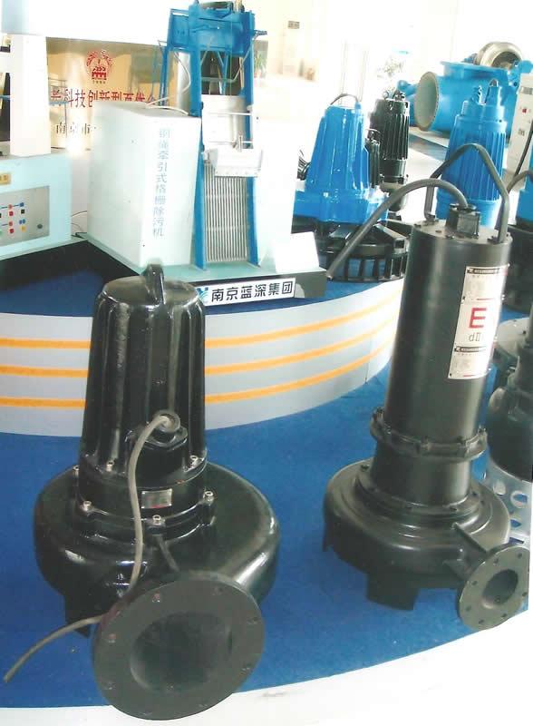 蓝深集团WQB150-22-22型隔爆型潜水排污泵