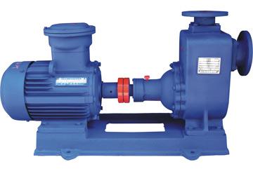 南京蓝深ZW100-80-80自吸无堵塞排污泵