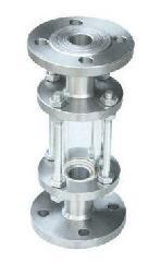 供应卫生级不锈钢管道视镜 法兰不锈钢视镜 玻璃视盅产地