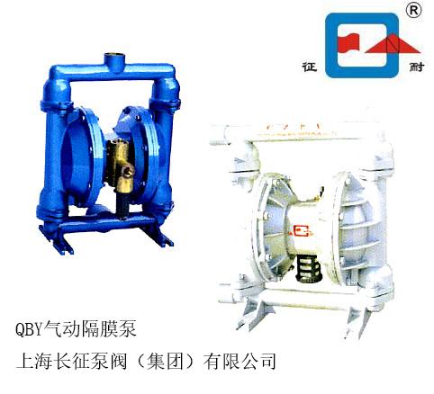 QBY气动隔膜泵 不锈钢材质