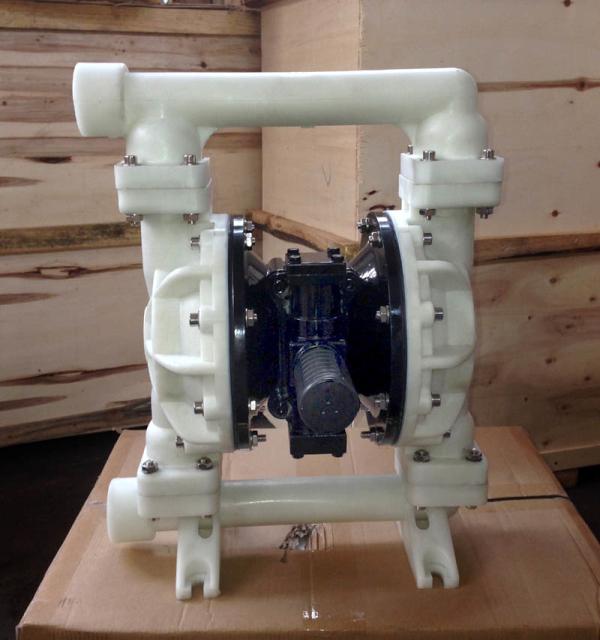 QBY5-25F气动隔膜泵 工程塑料隔膜泵 排污泵 卸料化工专用泵