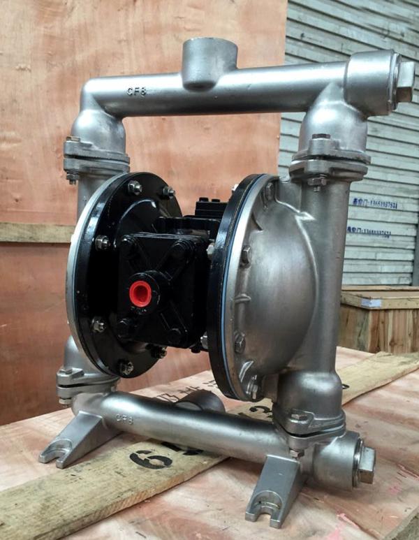 QBY5-32P气动隔膜泵 船用专�p峰用隔膜泵 化工排液泵耐腐蚀泵