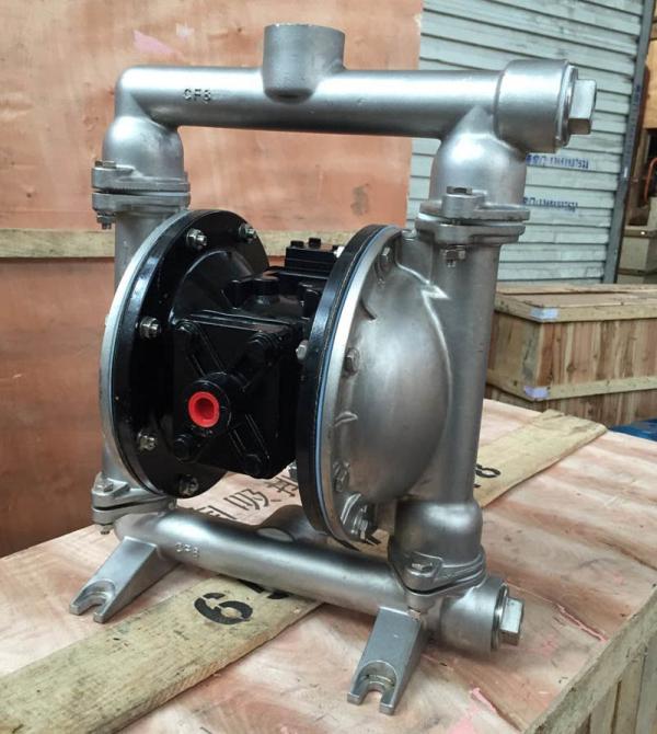 QBY5-40P气动隔膜泵 不锈钢隔膜泵 排污泵 压滤机专用泵