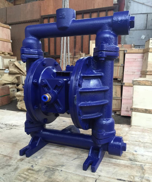 QBY5-32Z气动隔膜泵压滤机专用排污泵耐腐蚀双隔膜泵 厂家直销