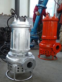 不锈钢耐酸碱潜水泥砂泵
