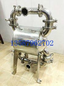 卫生级隔膜泵,卫生级气动隔膜泵,气动卫生级隔膜泵