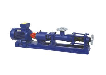 浓浆泵 涂料用螺杆泵 I-1B浓浆泵 单螺杆浓浆泵