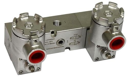 ct6防爆不锈钢双电控电磁阀