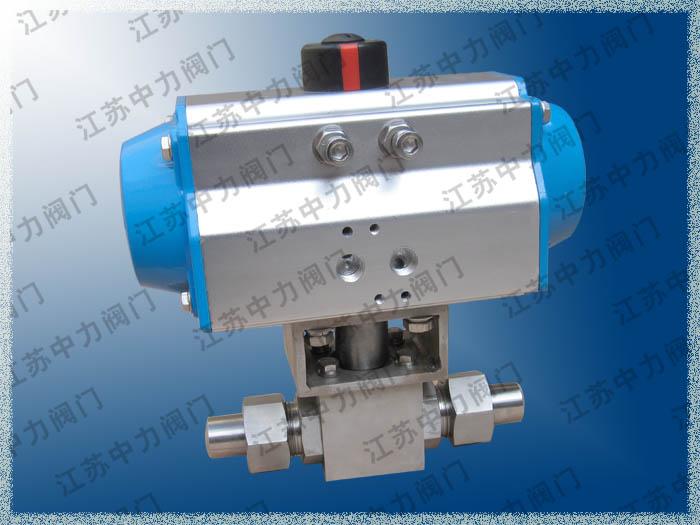 Q621N气动焊接高压球阀