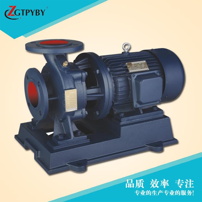 立式离心空调管道泵 离心式冷却泵 高扬程大流量